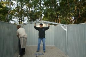 Hüttenbau 2004